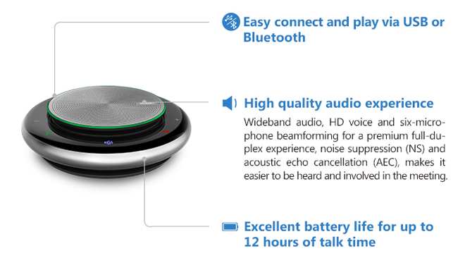 Yealink . Nuovo Speakerphone Portatile CP900